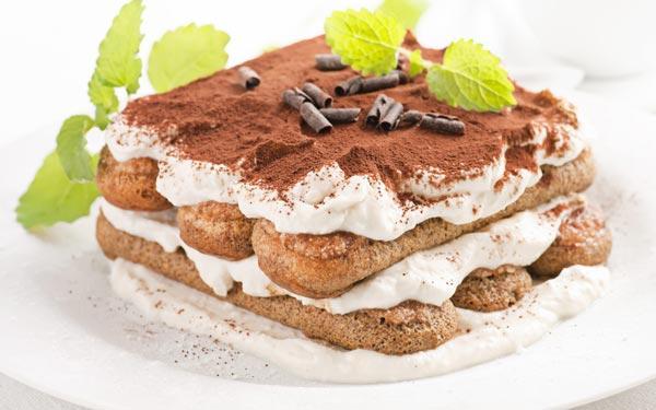 Рецепты итальянских десертов, тирамису
