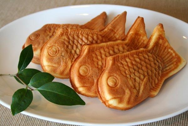 Вкусные Таяки - японский сладкий десерт