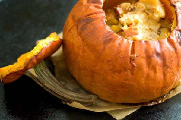 Рецепт десерта из тыквы, приготовленный в духовке
