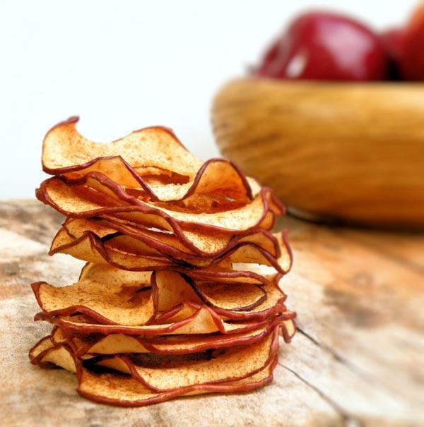Яблочные чипсы - это легко приготовить любой хозяйке