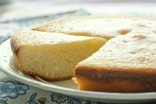 Манник на кефире с лимоном рецепт пошагово