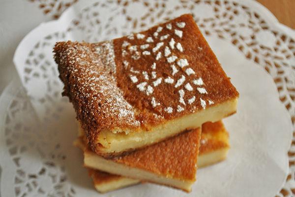 Умное пирожное с красивой корочкой