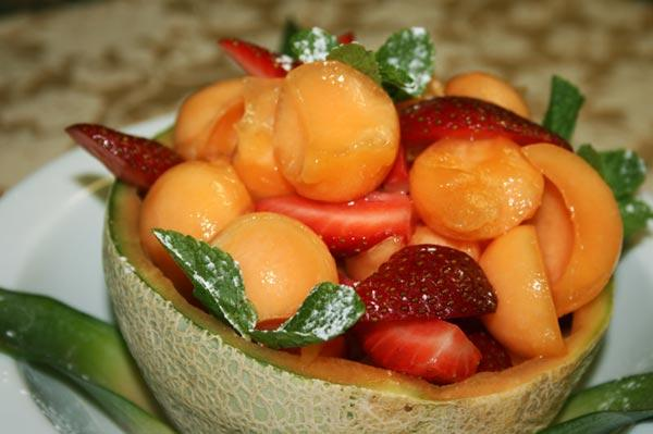 Только фрукты для вашей фигуры.