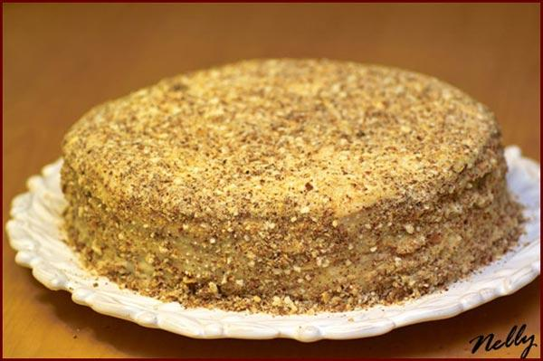 Готовим торт Наполеон на праздничный стол