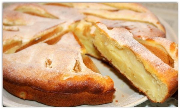 Как приготовить в мультиварке грушевый пирог? Рецепт с фотографиями.