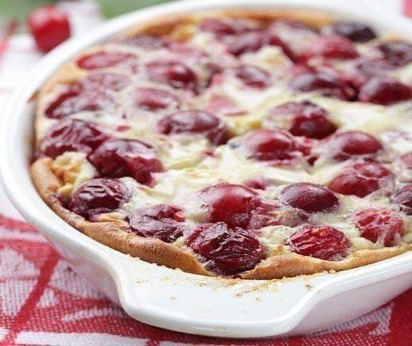 Клафути с вишней - как приготовить изысканый пирог?