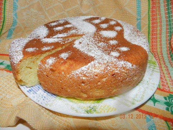 Как приготовить в мультиварке - рецепт творожного кекса с творогом.