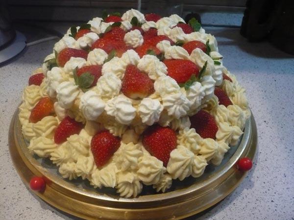 Вкусные рецепты тортов со сливками.