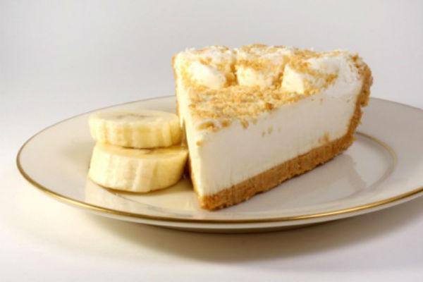 Кусочек бананового пирога