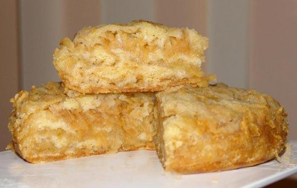пышный бисквит с яблоками рецепт с фото