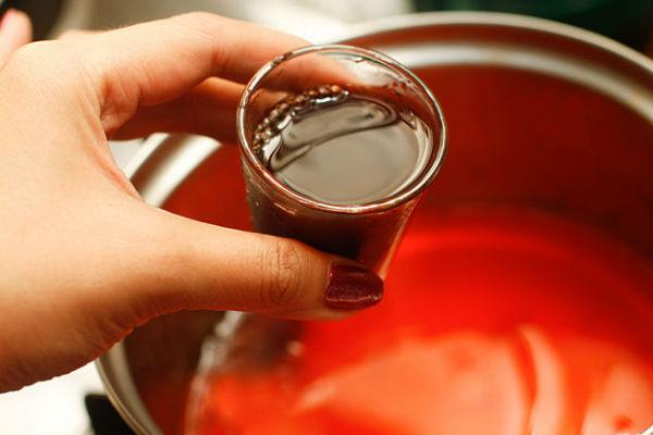 Приготовление алкогольного желе