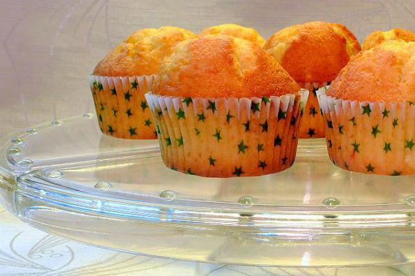 Маффины с апельсином
