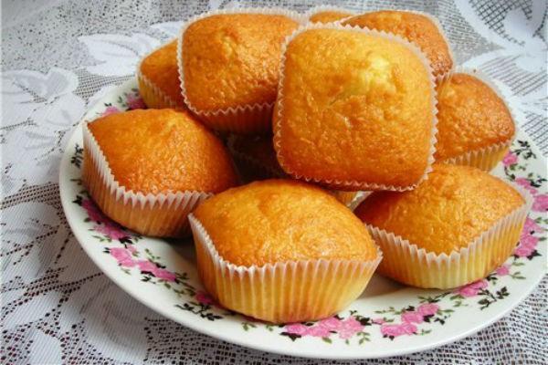маффины апельсиновые рецепт с фото