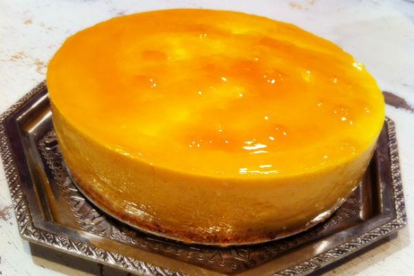 Ананасово-манговый пирог