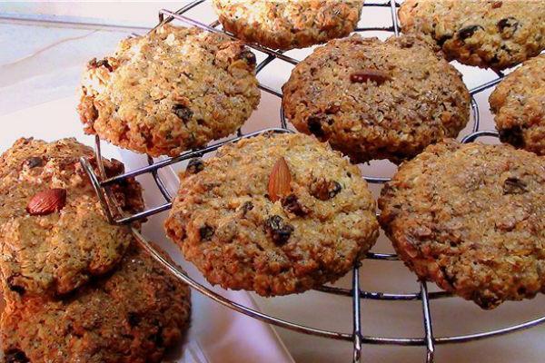 Овсяное печенье без сахара и муки