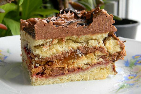 Кусочек ленинградского торта
