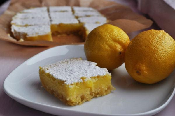 Пирожное из лимонов