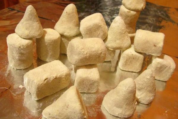 Плотный молочный сахар