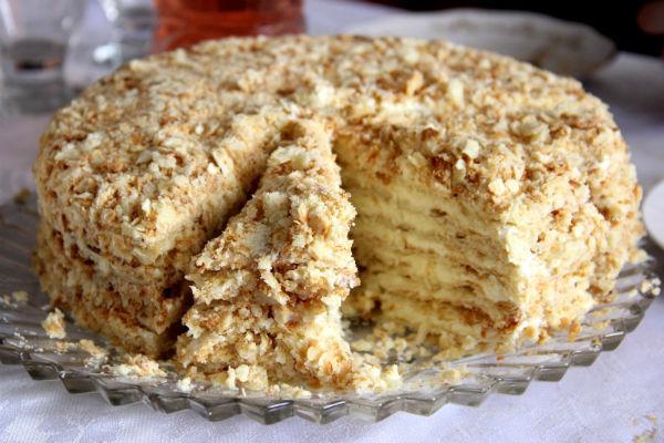 Тесто на торт наполеон рецепт