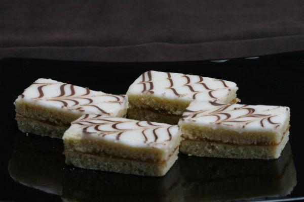 Рецепт песочного пирожного с глазурью