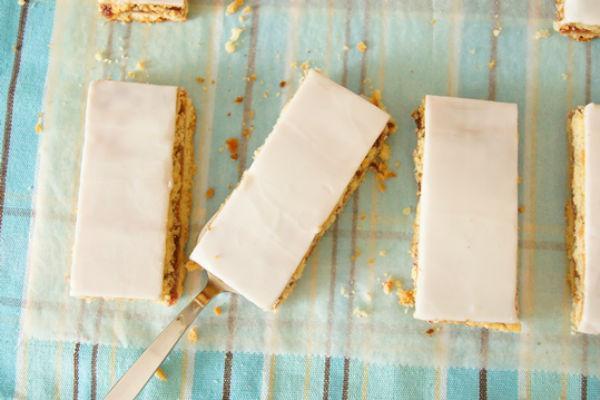 Рецепт песочного пирожного с фруктовой начинкой 108