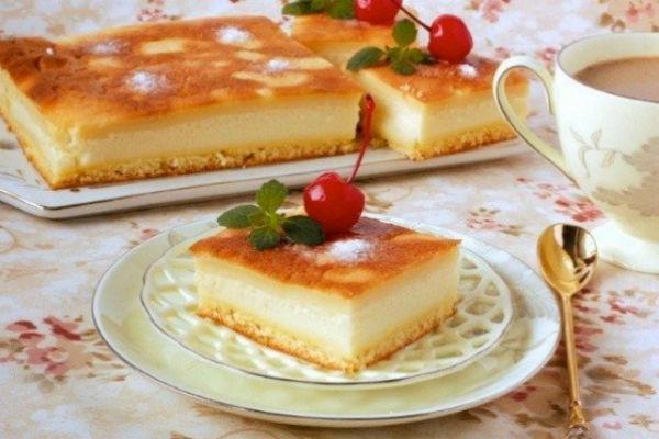Пирожное бисквитное с вишней