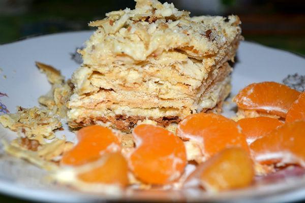 """Простой рецепт торта """"Наполеон"""" 2"""