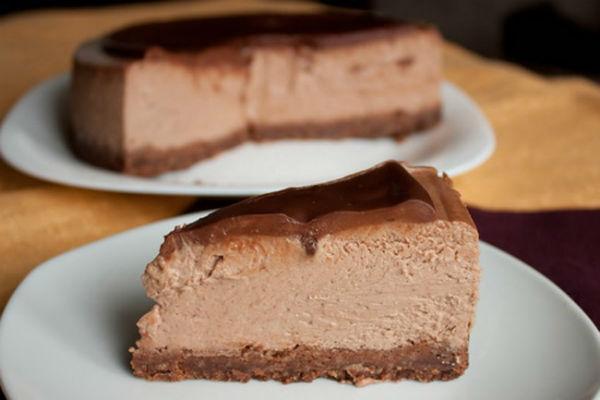Шоколадный чизкейк 4