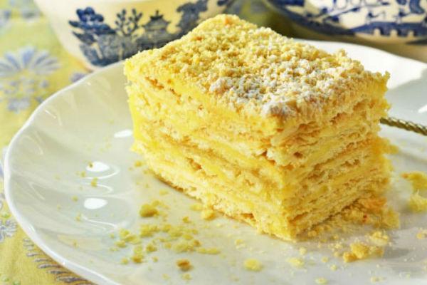 Торт Наполеон без выпечки 2