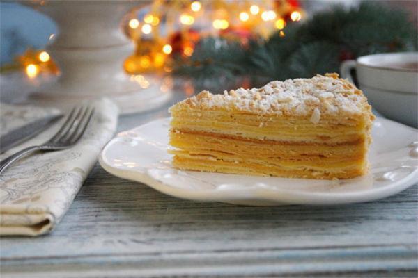 Торт Наполеон из готовых коржей 3