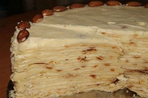 Торт Наполеон на сковородке 5