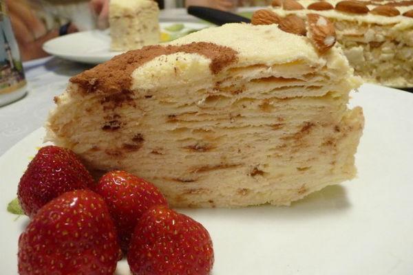 Торт Наполеон на сковородке 3