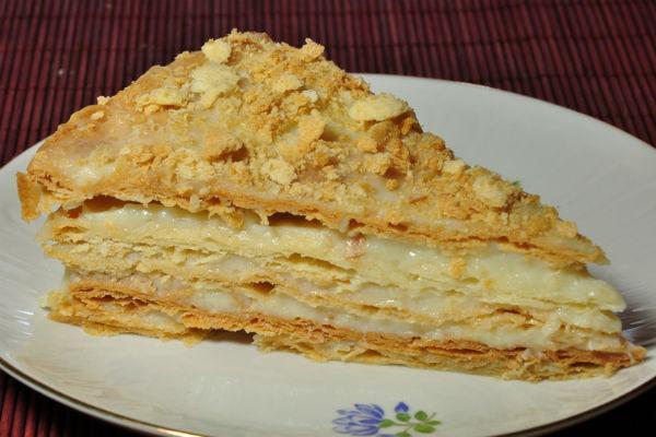Торт Наполеон рецепт для мультиварки