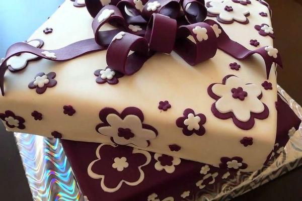 Украшение тортов мастикой 6