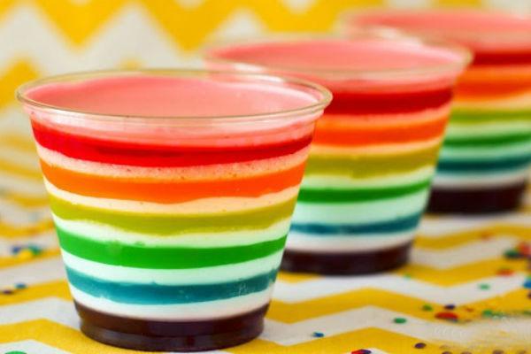 десерты с желе в стаканах рецепты с фото