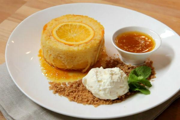 Апельсиновый десерт 2