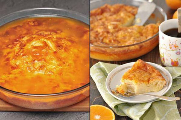 Апельсиновый десерт 1