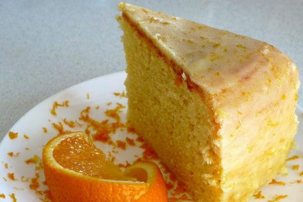Апельсиновый кекс 4