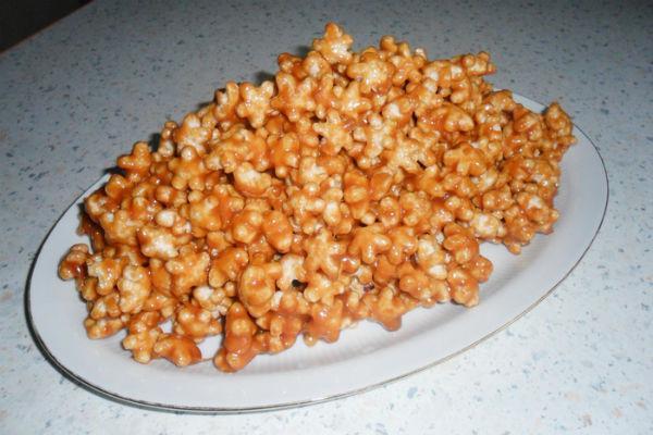Десерт из кукурузных палочек 2