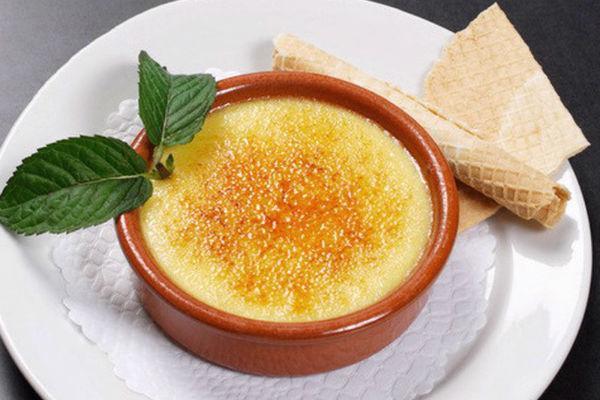 Десерт из желтков 4