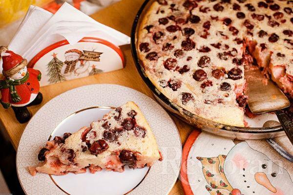 Французский десерт клафути 3