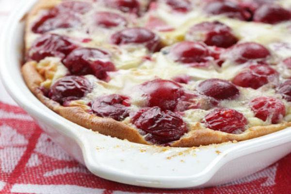 Французский десерт клафути 4