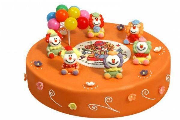 Как украсить детский торт 3