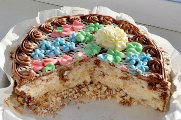 Киевский торт рецепт 3