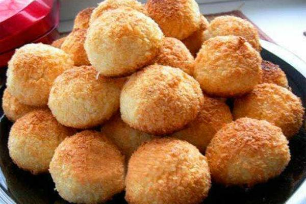 Кокосовое печенье рецепт 4