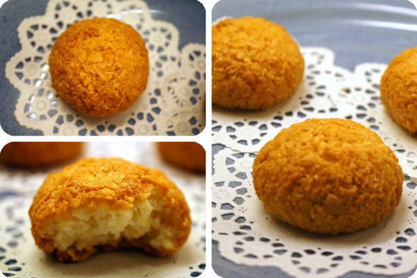 Кокосовое печенье рецепт 3