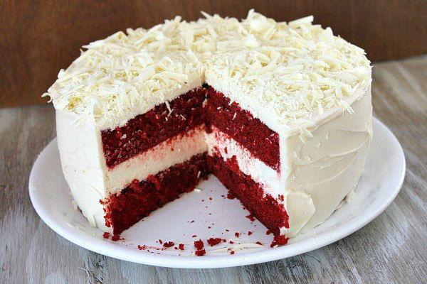 Торт Красный бархат 2