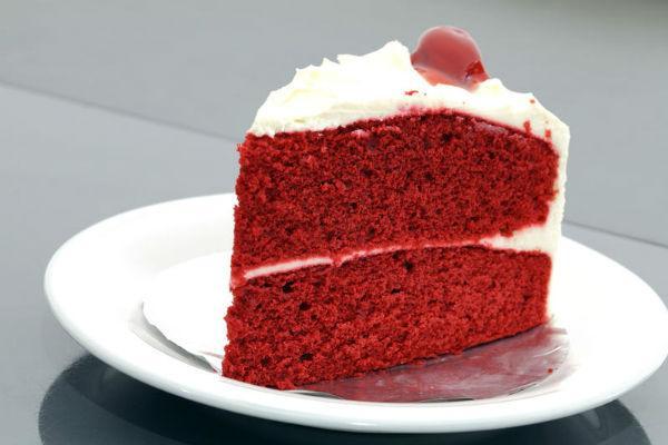 Торт Красный бархат 4