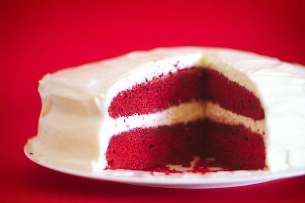 Торт Красный бархат 3