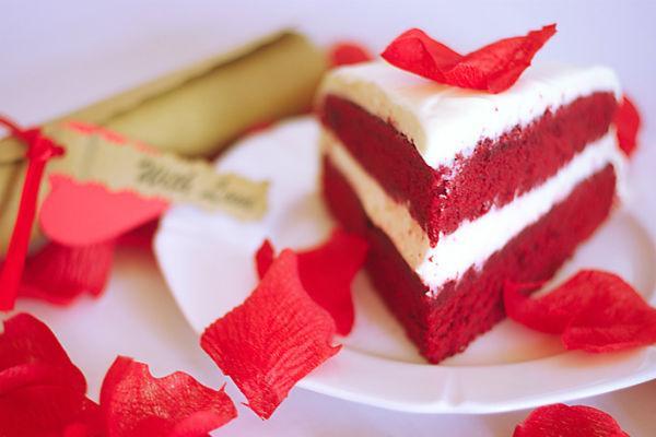 Торт Красный бархат 5